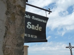 Café de Sade in Lacoste